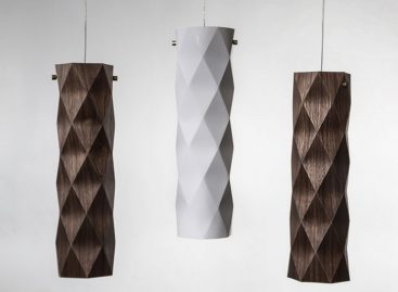Folded – Bộ sưu tập đèn theo phong cách Origami