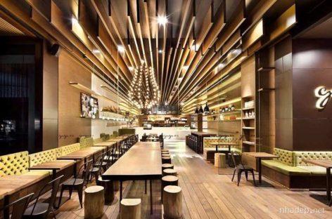 Nhà hàng Gaga với thiết kế ấn tượng, gần gũi và tự nhiên