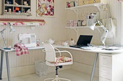 Trang trí phòng làm việc tại nhà
