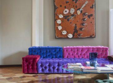Phong cách tương phản của căn hộ Biancamaria