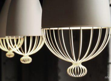 Lãng mạn cùng đèn gốm Le Trulle