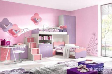 Phối màu cho căn phòng của bé