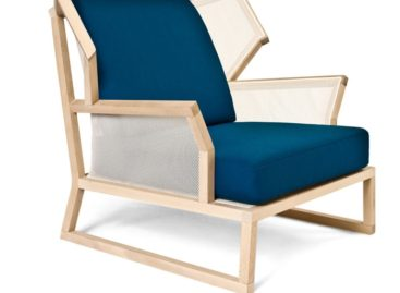 Thiết kế đơn giản và trang nhã của ghế bành Alfred