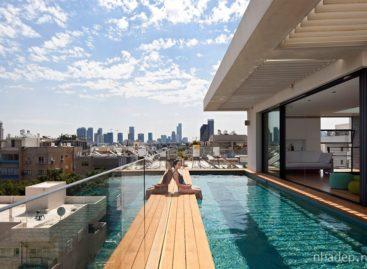 Bể bơi trên tầng 5 – sáng kiến tuyệt vời cho căn hộ hiện đại