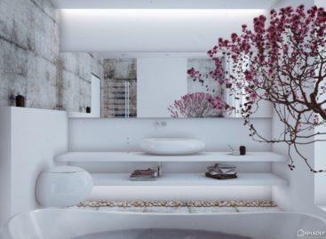 Ngôi nhà màu trắng sang trọng của Angelina Alexeeva