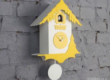3 Mẫu thiết kế đồng hồ treo tường thời hiện đại
