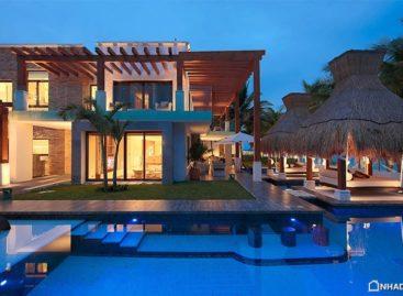 Biệt thự Esmeralda màu xanh quý phái