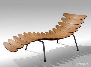 Bộ đôi ghế gỗ 3D đặc biệt