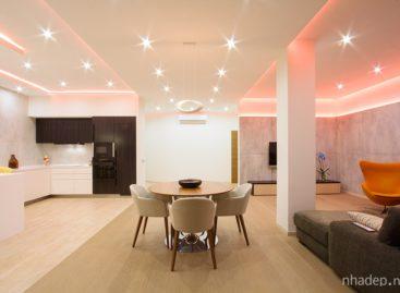 Ngôi nhà tràn ngập ánh màu sắc ánh sáng của G-DESIGN