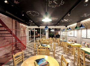Quán Game Cafe Alaloum Board thiết kế bởi Triopton Architects