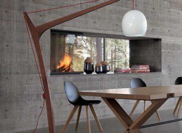 Thiết kế đèn sàn bằng gỗ đầy sáng tạo của Roche Bobois