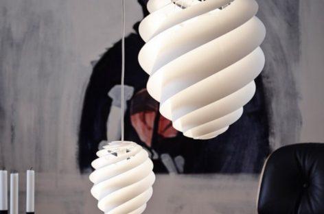 Swirl Lamp – sự quyến rũ từ những đường xoắn ốc