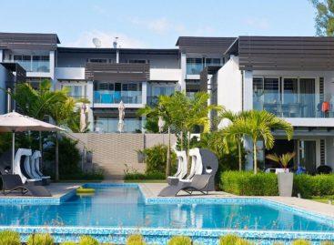 Thả mình trong không gian xanh mướt mát của Resort Plage Bleue
