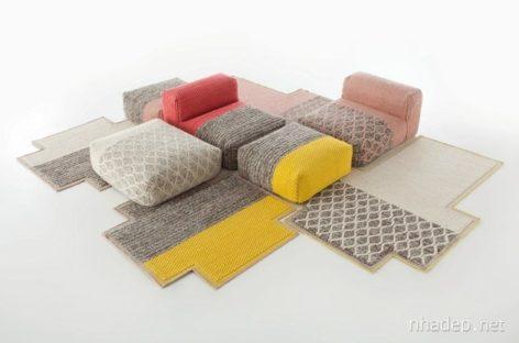 Bộ sưu tập đồ nội thất bằng len cho mùa đông