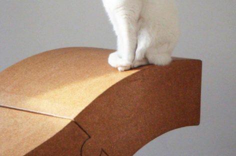 Ghế từ bột gỗ của D'arc.Studio