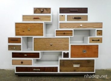 Tủ búp phê với những thiết kế đầy sáng tạo