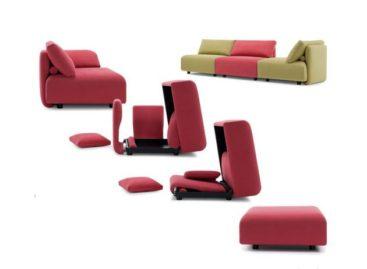 Bộ sofa biến hóa độc đáo của Futura