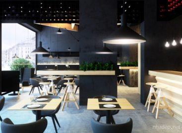 Không gian nội thất quán cà phê Bristol2 ở Ukraine