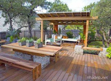 Những thiết kế hiên nhà và sân vườn đầy thơ mộng (Phần 2)