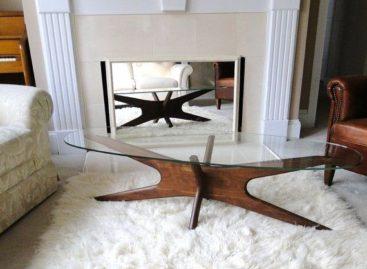 Thiết kế bàn cà phê mang phong cách thập niên 50