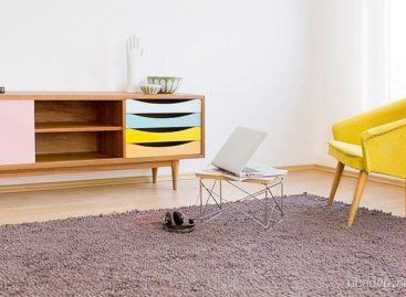 10 ý tưởng kết hợp đồ gỗ với các gam màu đơn sắc trong thiết kế nội thất