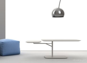 Chiếc bàn cà phê 360 độ thú vị của Roberto Paoli