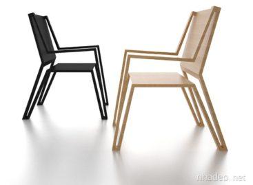 Chiếc ghế Outline Chair đơn giản và thanh lịch