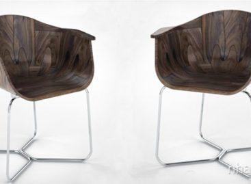 Chiếc ghế đầy phong cách Walnut Shell Seat của Tony O'Neill