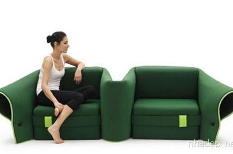 Chiếc ghế sofa Sosia cho không gian luôn mới mẻ