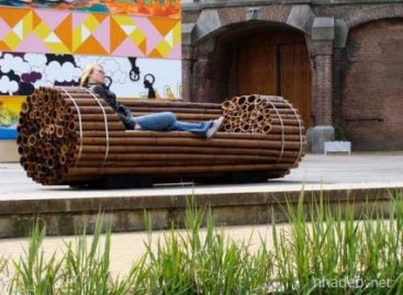 Chiếc ghế tre độc đáo và nghệ thuật Pile Isle