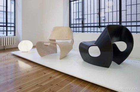 Những chiếc ghế lấy cảm hứng từ hình dạng vỏ ốc biển