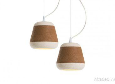 Đèn bằng đất nung do Davide Giulio Aquini thiết kế