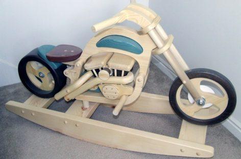 Bộ sưu tập đồ chơi bằng gỗ độc đáo cho trẻ (Phần 1)