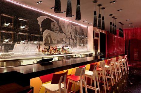 Nội thất đa sắc cá tính của nhà hàng Jaleo tại Las Vegas
