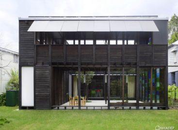 Thiết kế ngôi nhà gỗ sáng tạo của kiến trúc sư James Russell