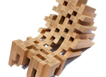 Chiếc ghế Butake hình dáng ấn tượng
