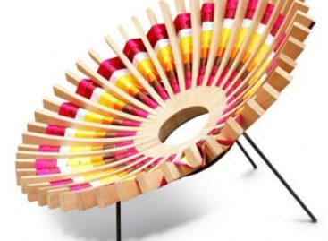 Ghế Maria độc đáo thiết kế bởi Raul Herrera Téllez