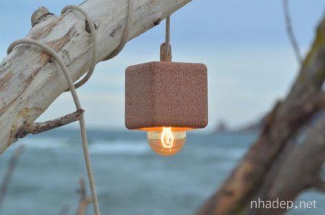Sáng tạo với chiếc đèn làm từ cát