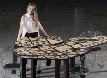 Bộ bàn ghép Swarm hiện đại của nhà thiết kế Natalie Goldfinger