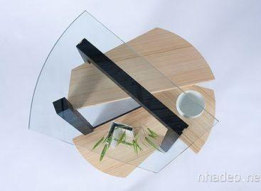 Bộ sưu tập bàn Bamboo của nhà thiết kế Ken Tomita