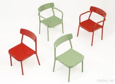 Bộ sưu tập bàn ghế nhôm Grace đơn giản và thanh lịch