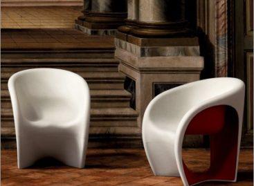 Chiếc ghế Driade với kiểu dáng độc đáo