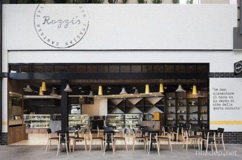 Chiêm ngưỡng không gian đậm chất Ý tại nhà hàng Rozzi's