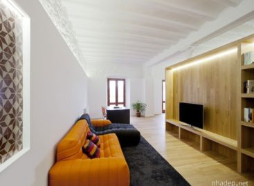 Mẫu thiết kế tinh tế của ngôi nhà với nội thất bằng gỗ