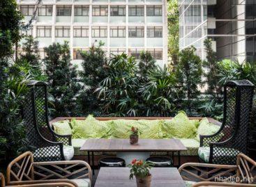 Không gian nghệ thuật của khách sạn tại trung tâm Hồng Kông