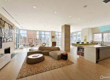 Chiêm ngưỡng không gian xa hoa của căn hộ tại New York, Mỹ