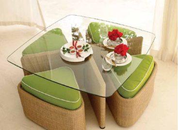 Thiết kế thông minh trong bộ bàn ghế Sushi