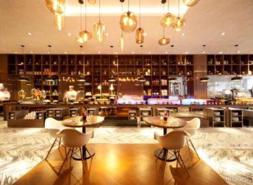 Thiết kế nội thất sang trọng tại nhà hàng Element, Singapore