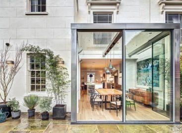 Không gian vui tươi đầy cảm hứng của kiến trúc ngôi nhà ở London