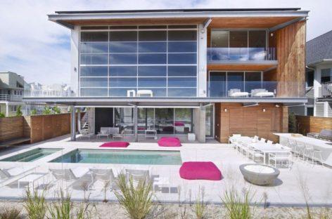 Vẻ đẹp của ngôi nhà ven bờ biển Long Beach, New York, Mỹ